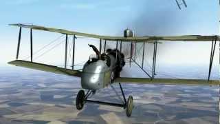 Rise of Flight   D H 2 vs Albatros D II