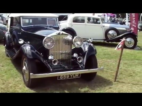 RREC Rolls Royce Enthusiasts' Club  Annual Rally 2015 at Burghley House