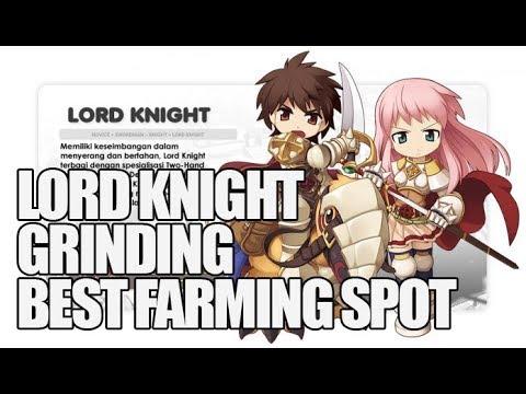 Lord Knight Spear Pierce - Fast Farming/Grinding 70-90