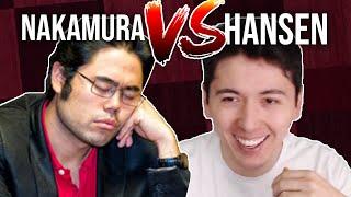TOO SLOW | GM Nakamura VS GM Hansen