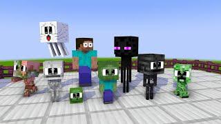 Школа Монстров : Все детские вызовы 2 - Майнкрафт анимация