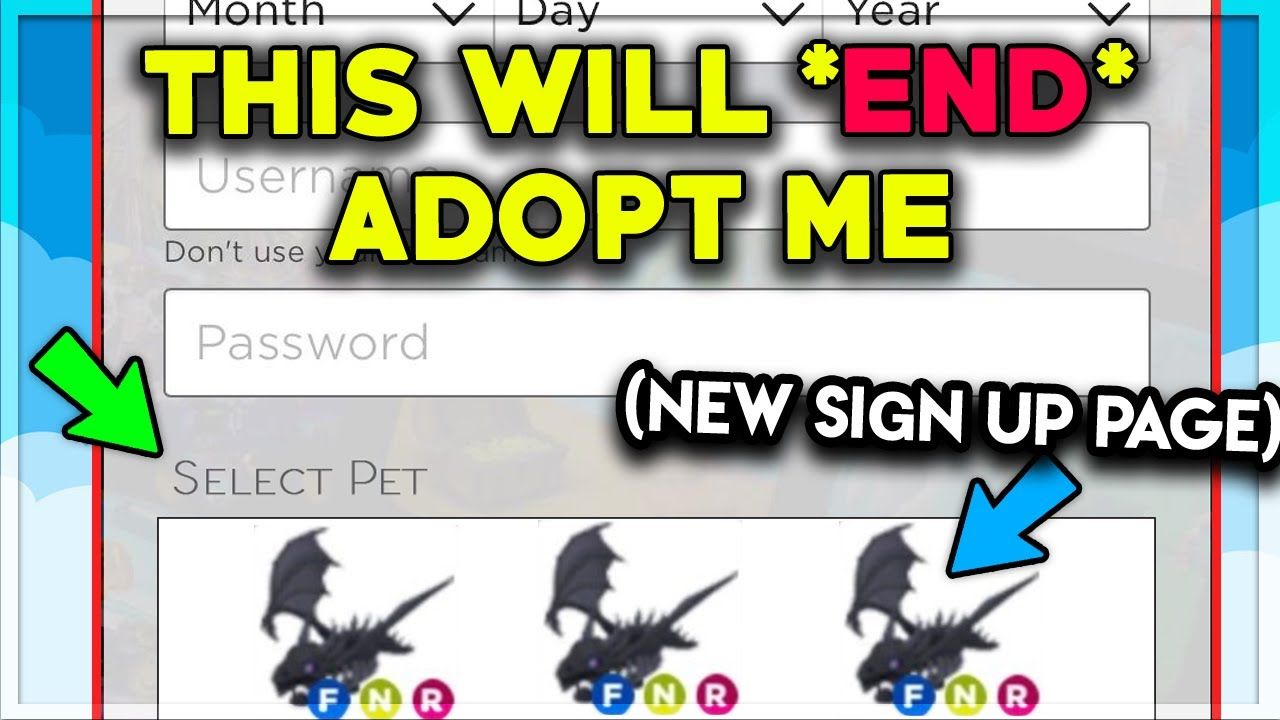 New Roblox Glitch Gives You Free Neon Legendary Pets Adopt Me Youtube