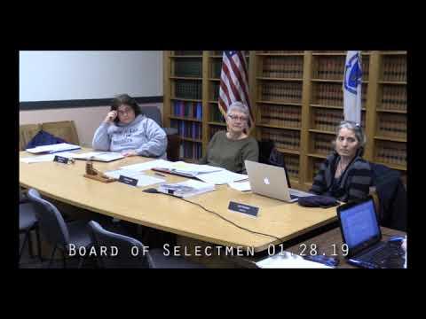 Board of Selectmen 01.28.19