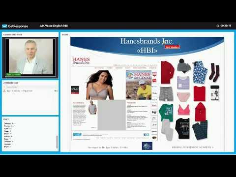 Apparel Industry Part 3: Hanesbrands, INC (HBI) Fundamental Analysis