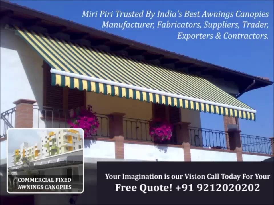 miri piri delhi based leading manufacturers suppliers of awnings