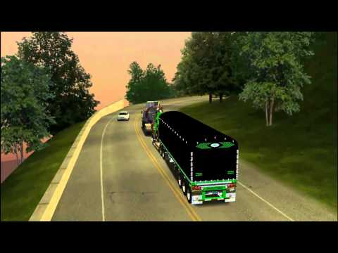 colombian truck simulator bajando la linea en kenworth