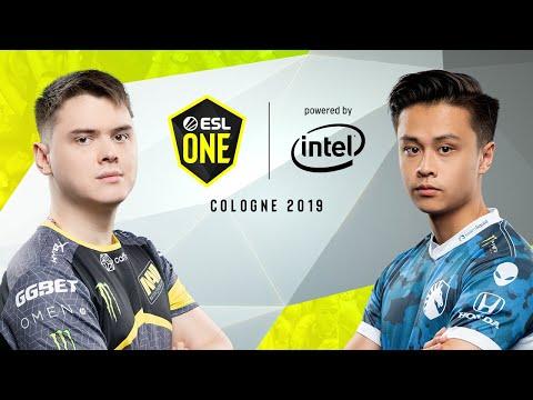 CS:GO - NaVi Vs. Team Liquid [Dust2] Map 1 - Semi-Final - ESL One Cologne 2019