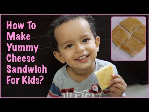 Yummy Cheese Sandwich Recipe For Kids | MomCom Recipes