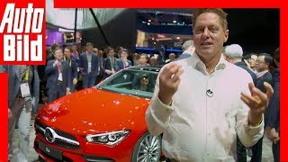 Mercedes CLA (CES 2019) Der Chefdesigner stellt den CLA vor