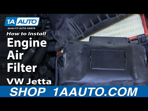 How to Replace Engine Air Filter 00-05 Volkswagen Jetta