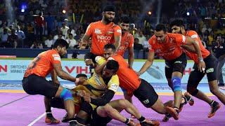 Pro Kabaddi 2019 Highlights | Telugu Titans vs U Mumba  | Hindi M1