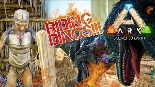 ARK: Scorched Earth - MORELLATOPS SADDLE | BASE COMPOUND | Scorched Earth Gameplay [6]
