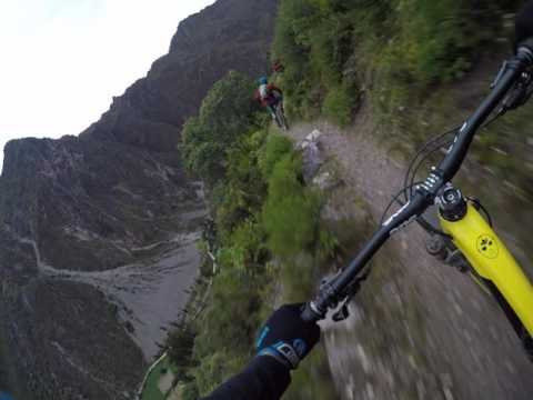 Geoff Gulevich riding and on the edge of the world in Peru Gopro