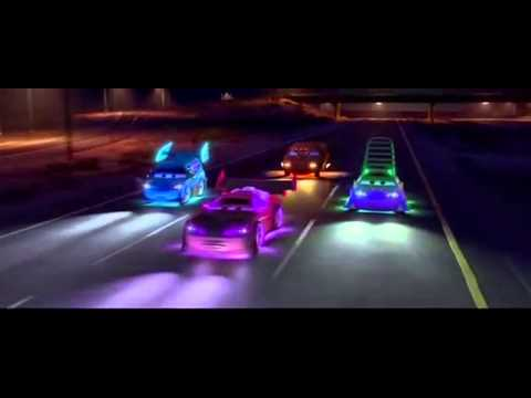 Pixar Cars – Tuner car scene