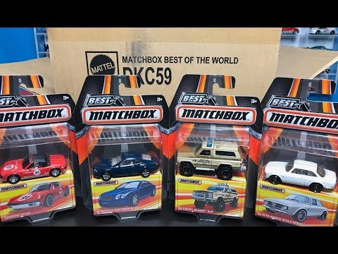 Lamley Unboxing: 2017 Matchbox Best of the World Release B