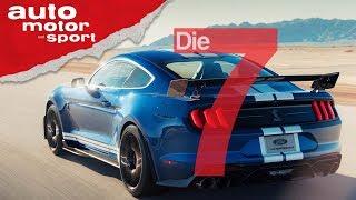 Stärker als der Ford GT - 7 Fakten zum Ford Mustang Shelby GT500 (2019) | auto motor und sport