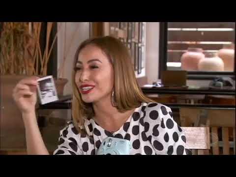Ana Hickmann se emociona ao encontrar Ryan no Programa da Sabrina