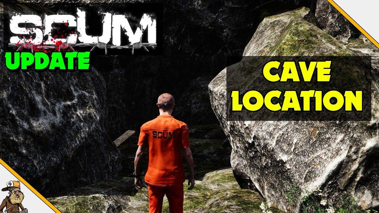 Scum Karte.Scum Update Scum Cave Location Revealed Build Live Trap
