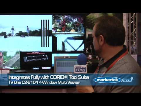 TV One C2-6104 Multi View 4-Window DVI-I Processor
