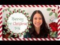 Planning for Christmas 2016