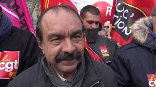 Grève : Manifestation pour les retraites (10 décembre 2019, Paris)