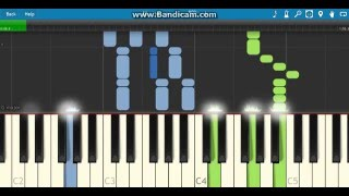 Girlfriend in a Coma - The Smiths Piano Tutorial