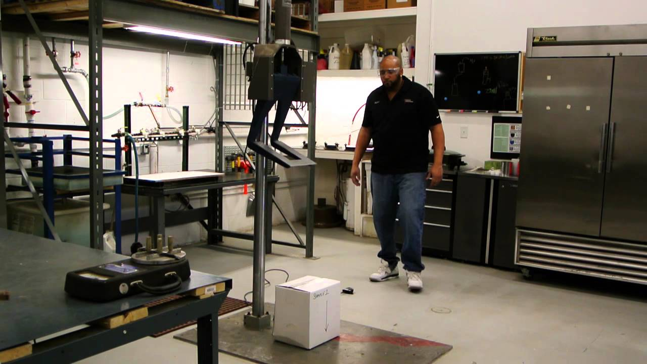 Package Testing - Drop Test by Advanced Packaging Technology Laboratories