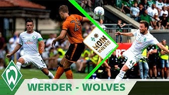 Zlatko Junuzovic an die Latte & Volley von Bargfrede | SV Werder - Wolverhampton (Highlights)