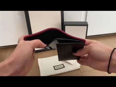 구찌 GG 마몬트 카드지갑 Gucci gg marmont card case unboxing