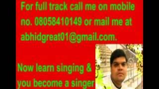 Sapno se bhare naina karaoke- Luck by chance.flv