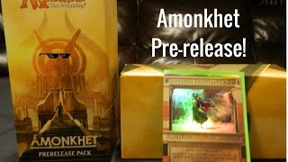 Amonkhet pre-release opening (invocation pull!)