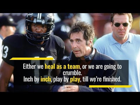 What is the small difference between winning and losing? | Al Pacino