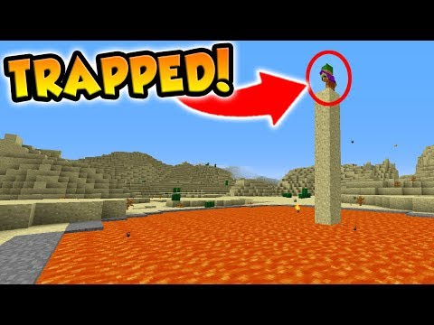 SETTING TRAPS FOR ANOTHER YOUTUBER IN MINECRAFT!