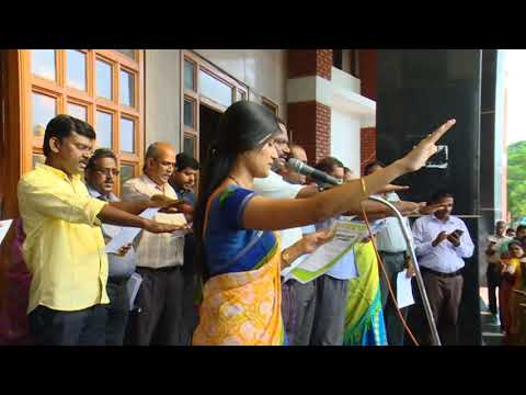 SWACHH BHARAT - SALEM COLLECTOR PLEDGE by MONI SARAVANAN
