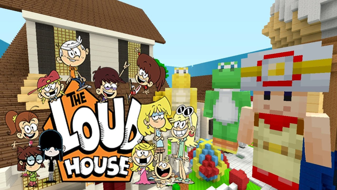 Minecraft How To Build The Loud House