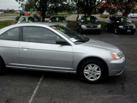 Lovely 2003 Honda Civic LX, 2 Door Coupe, 1.7 Liter 4cyl, 5 Speed, $5,995!!!