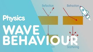 Wave behaviour | Waves | Physics for All | FuseSchool