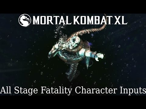 MKX - All Stage Fatality Inputs