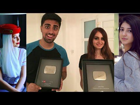 Top 10 Youtubers Of Dubai, UAE  Middle East 
