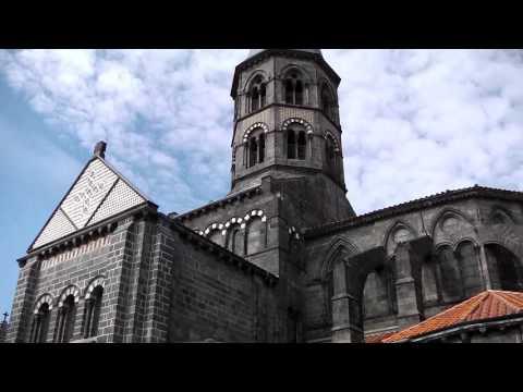 Town Centre, Riom, Auvergne, France