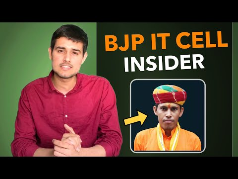 BJP IT Cell Insider Interview with Dhruv Rathee