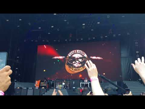 Guns N' Roses Live Concert in Berlin 03 June 2018 Opening Act –  It's So Easy