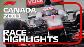 2011 Canadian Grand Prix: Race Highlights
