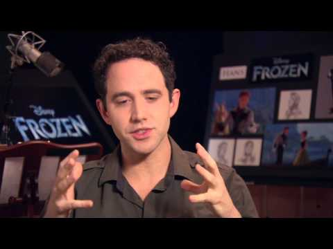 "Frozen: Santino Fontana ""Hans"" On Set Movie Interview"