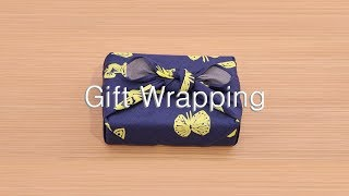 Furoshiki Gift Wrapping /How to use / MUSUBI