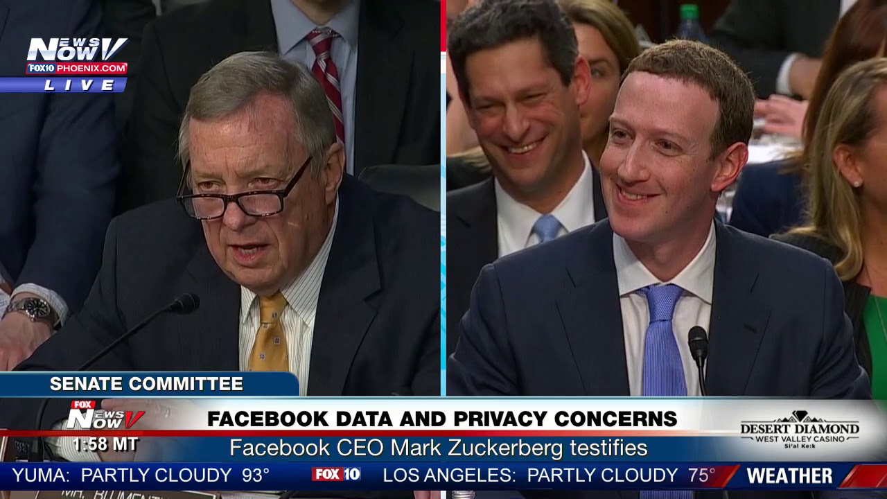 IRONY: Mark Zuckerberg Says He Doesn't Want His Information To Be Public  (FNN)