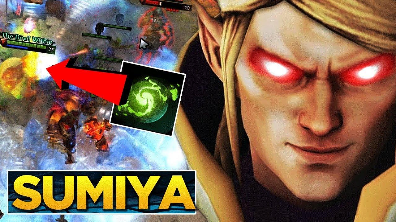 Sumiya Is He The Worlds Best Invoker Dota  Epic Gameplay
