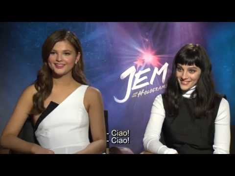 Jem e le Holograms - intervista Aubrey Peeples e Stephanie Scott