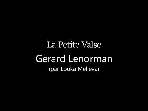 La Petite Valse - Gerard Lenorman (par Louka Melieva, Camping 3)