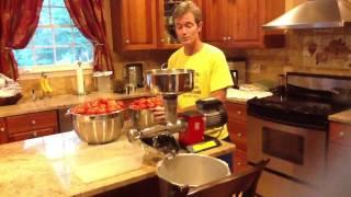 OMRA Electric Tomato Mill - Puree for sa...
